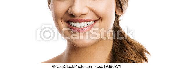 sunde tænder - csp19396271