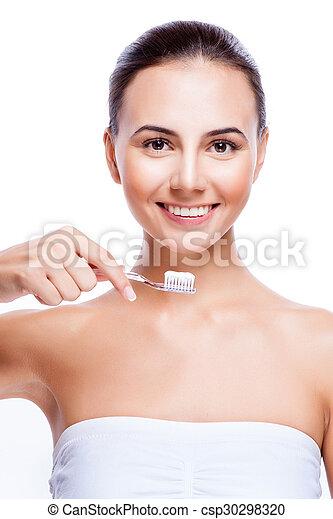 sunde tænder - csp30298320