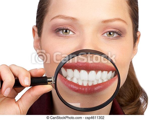 sunde tænder - csp4611302