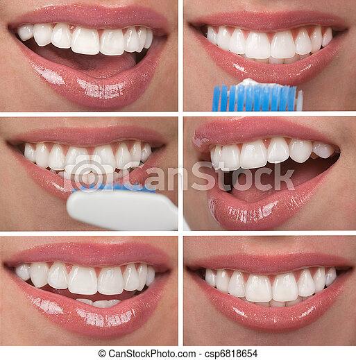 sunde tænder - csp6818654