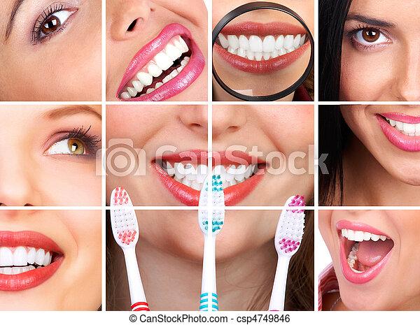 sunde tænder - csp4749846