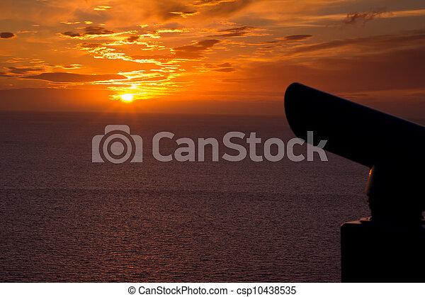 Sundown - csp10438535
