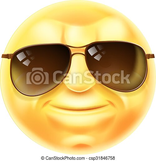 sunglasses cool emoji emoticon a cool looking emoji Silly Smiley Face Clip Art Free Yummy Smiley Face Clip Art