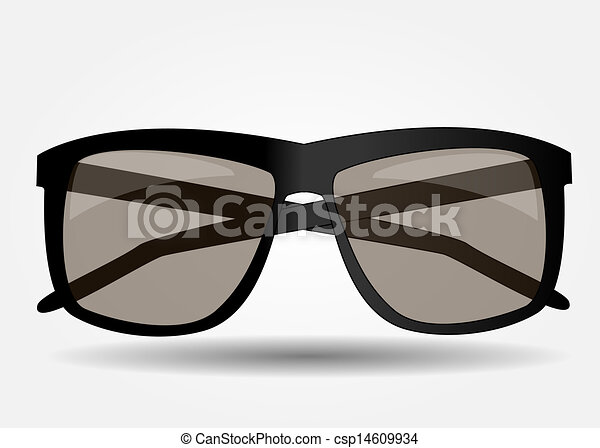 Sunglasses icon vector illustration - csp14609934