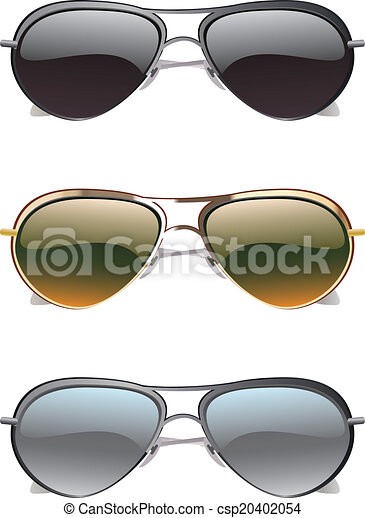 Sunglasses Icons - csp20402054