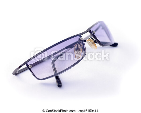 sunglasses isolated on a white background - csp16159414