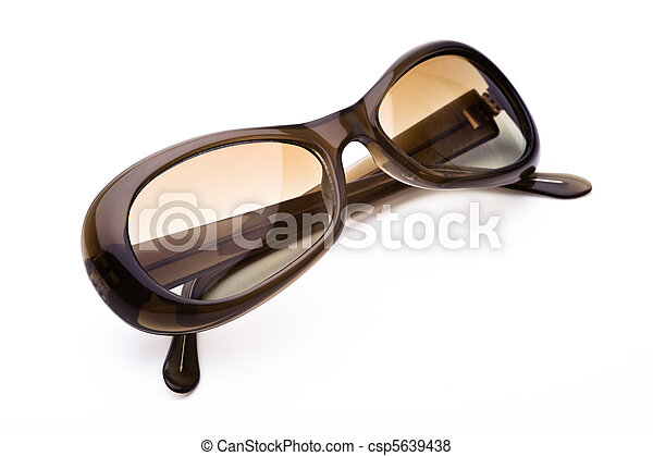 Sunglasses isolated on a white background - csp5639438