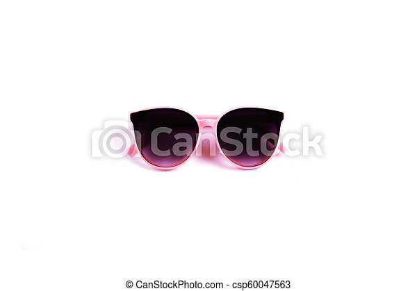 sunglasses isolated on a white background - csp60047563