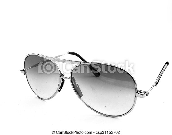 sunglasses isolated on a white background - csp31152702