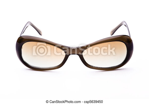 Sunglasses isolated on a white background - csp5639450