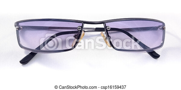 sunglasses isolated on a white background - csp16159437