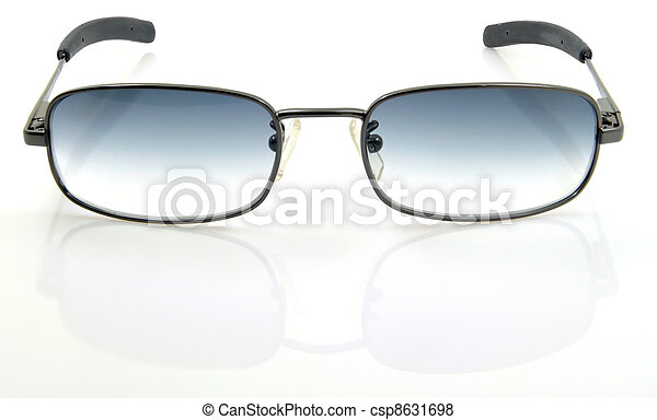 sunglasses on a white background - csp8631698