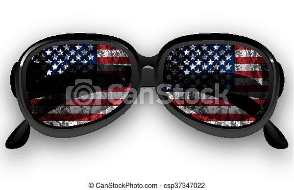 7ad46212afc Sunglasses with us flag. Sunglasses with usa flag