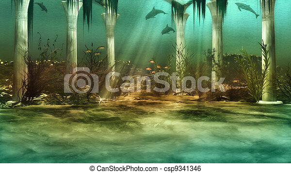 Sunken City - csp9341346