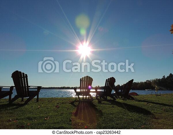 Sunny Autumn Afternoon II - csp23263442