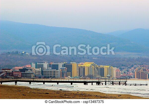 Sunny beach - csp13497375