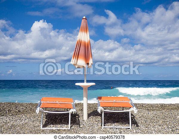 Sunny beach - csp40579378