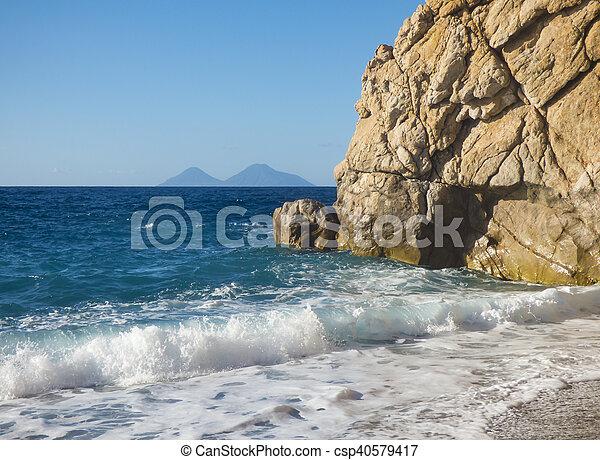 Sunny beach - csp40579417