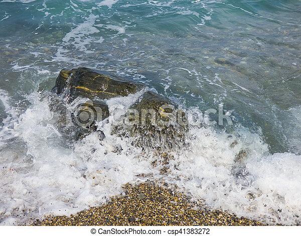 Sunny beach - csp41383272
