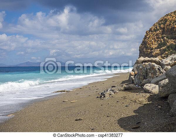 Sunny beach - csp41383277