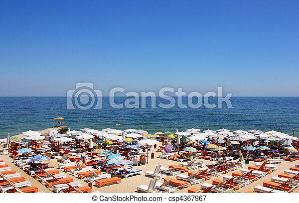 sunny beach - csp4367967