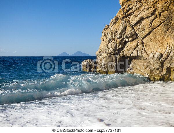 Sunny beach - csp57737181