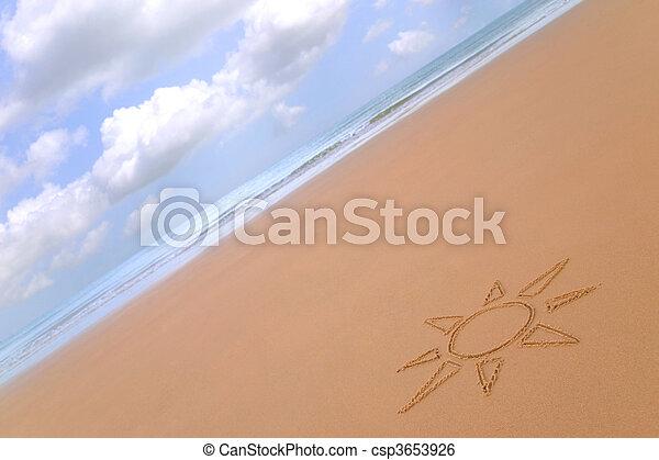 Sunny beach - csp3653926