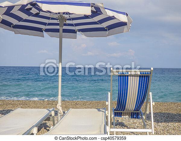 Sunny beach - csp40579359