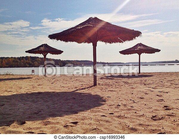 Sunny beach - csp16993346