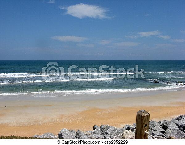 sunny beach - csp2352229