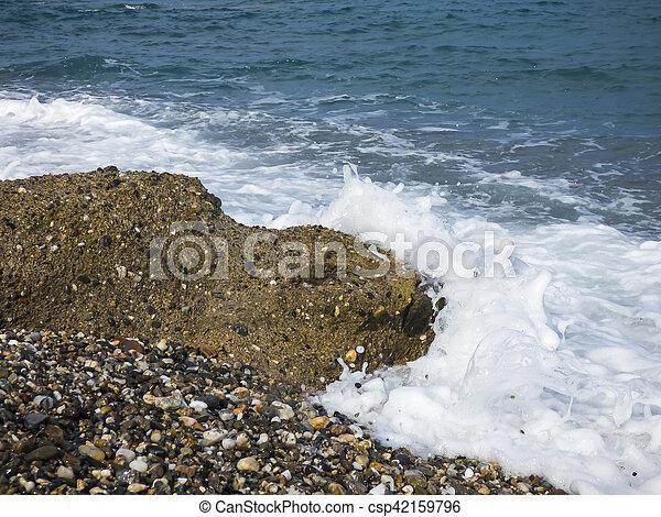 Sunny beach - csp42159796