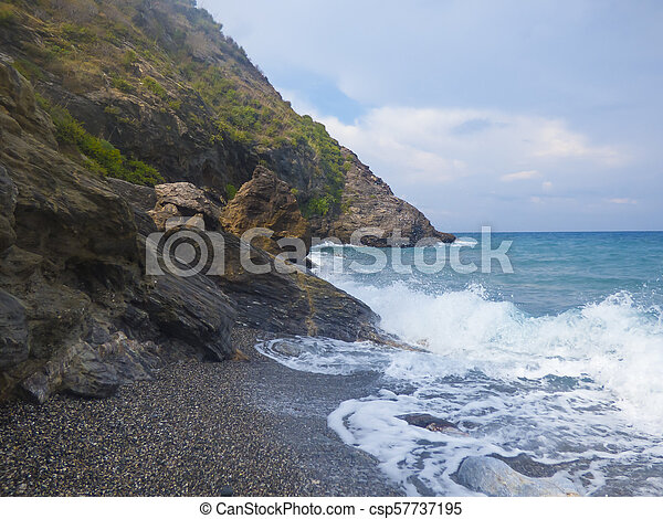 Sunny beach - csp57737195