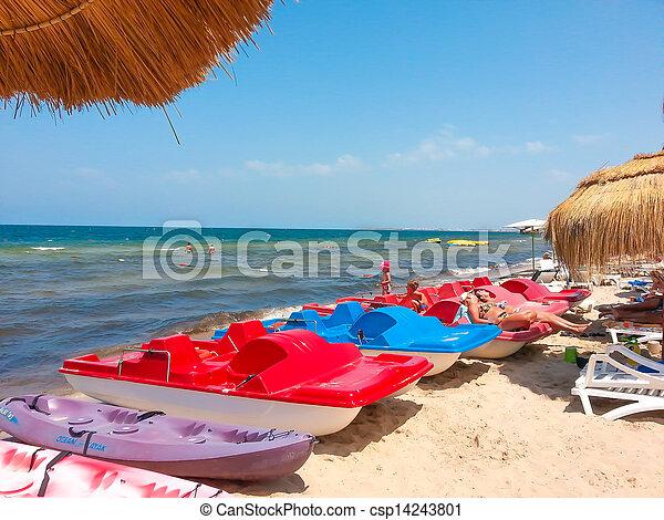 Sunny beach - csp14243801