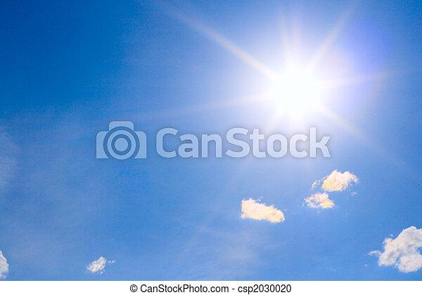 sunny sky - csp2030020