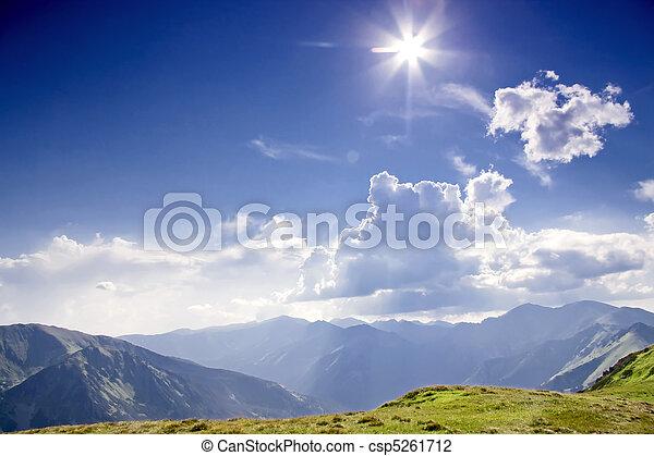 Sunny Tatras - csp5261712