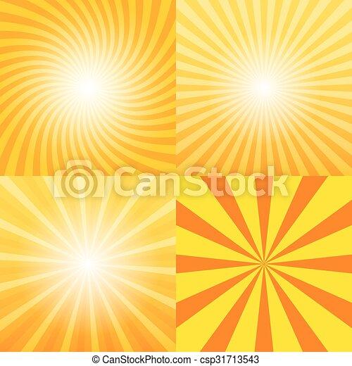 Sunray background set - csp31713543