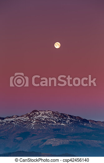 Sunrise at the Urkiola Natural Park - csp42456140