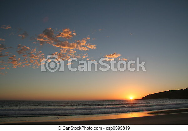 Sunrise beach - csp0393819