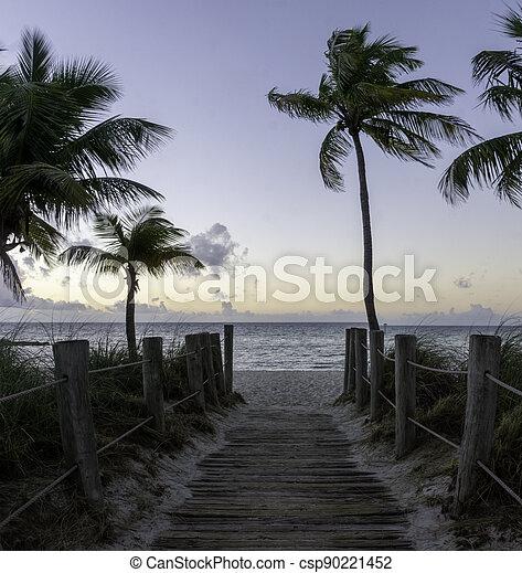 Sunrise in Key West - csp90221452