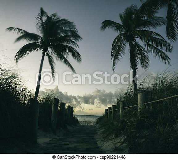 Sunrise in Key West - csp90221448