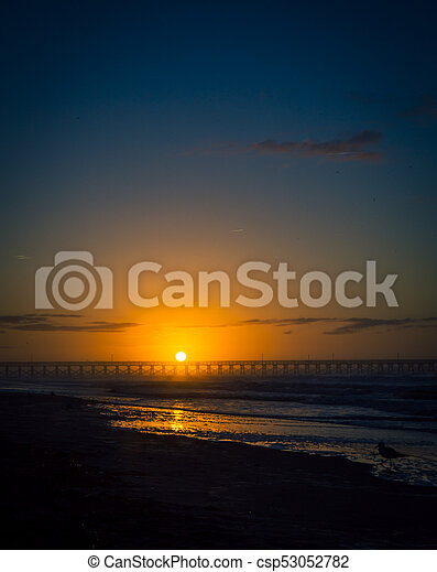 sunrise in myrtle beach - csp53052782