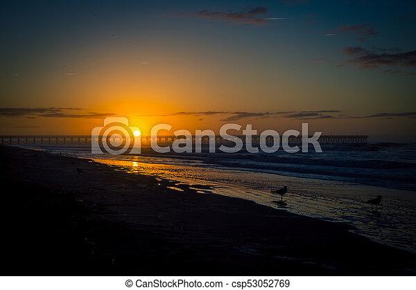 sunrise in myrtle beach - csp53052769