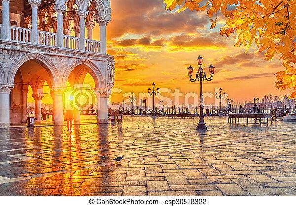 Sunrise in Venice - csp30518322