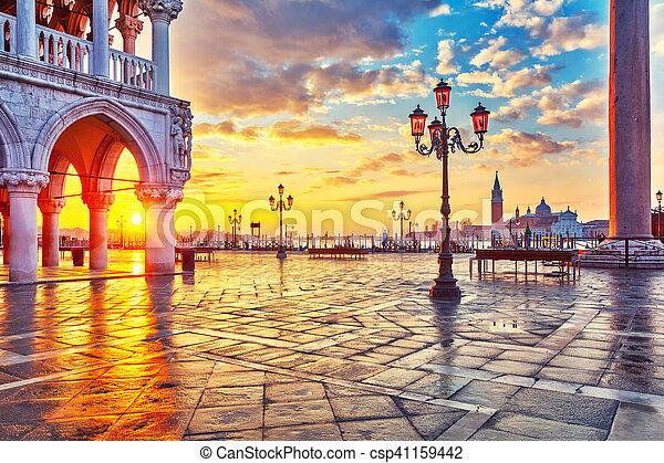 Sunrise in Venice - csp41159442
