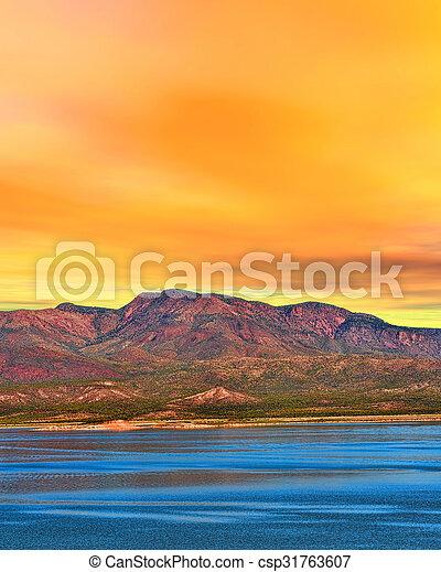 Sunrise Lake Arizona - csp31763607