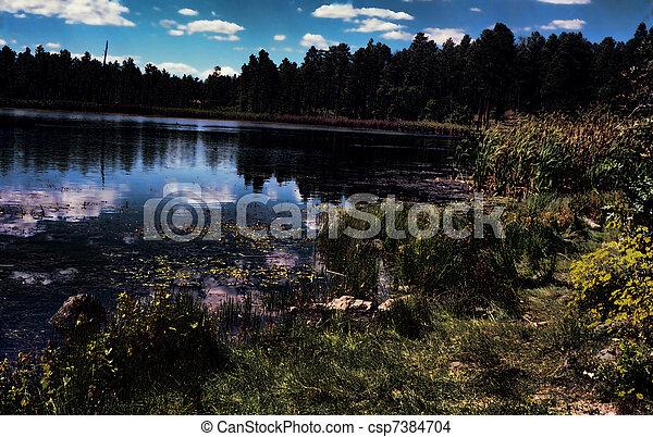 Sunrise Lake - csp7384704