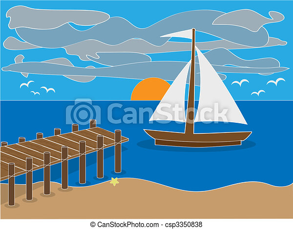 Deer Cartoon Illustration Royalty Free Stock Photos ...  Beach With Sailboat Clipart Cartoons