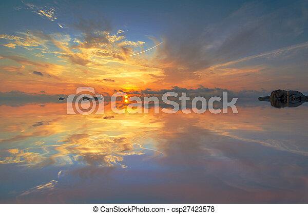 sunrise - csp27423578