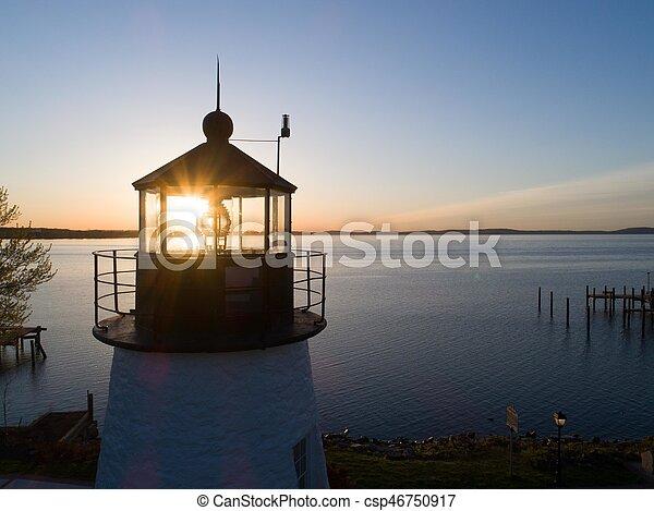 Sunrise through the lens - csp46750917