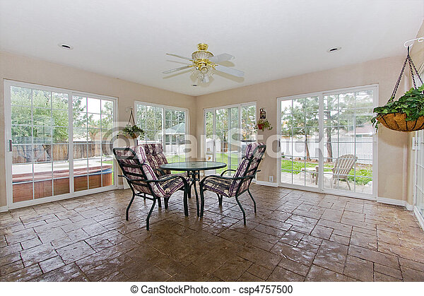 sunroom - csp4757500